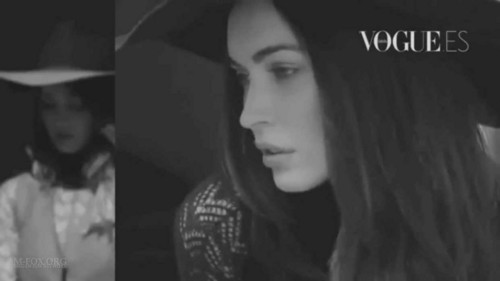 Megan Fox Vogue Spain October 2011 outtakes