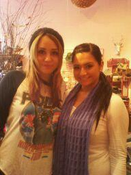 Miley With A Fan!