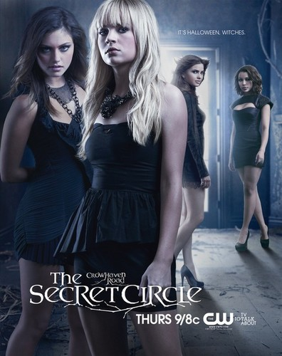 The Secret Circle (TV Show) wallpaper possibly containing bare legs, a cocktail dress, and a hip boot entitled New Poster