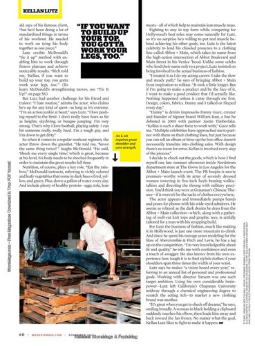 New scans of Kellan in Men's Health and People Magazine!
