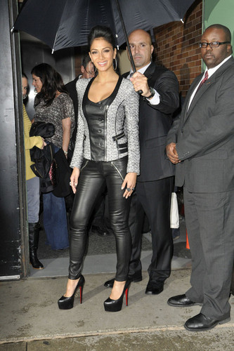 "Nicole Scherzinger on ""Good Morning America"" oct 11"