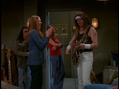 Ted Nugent wallpaper titled Nugent in That '70s Show - 'Backstage Pass'