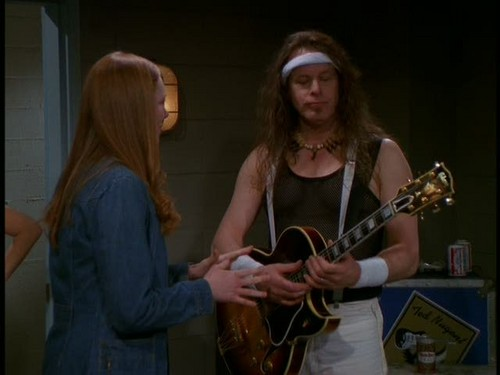Ted Nugent wallpaper entitled Nugent in That '70s Show - 'Backstage Pass'