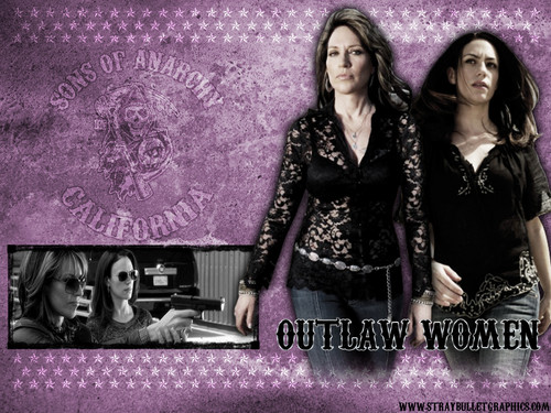 Outlaw Women - sons-of-anarchy Wallpaper