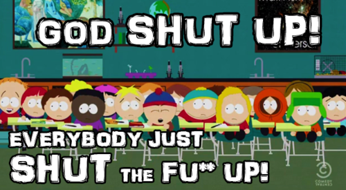 Random South park Shizzle : Old & New , Gifs & Pics