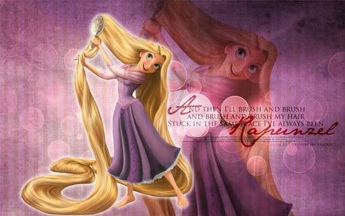 Tangled wallpaper entitled Rapunzel