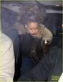 Rihanna Recording New Album in Portable Studio