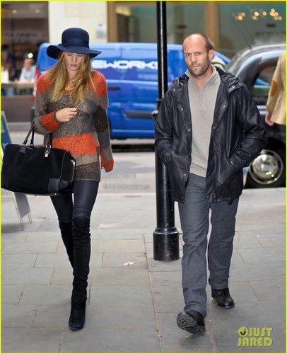 Rosie Huntington-Whiteley & Jason Statham: Londra Lovebirds