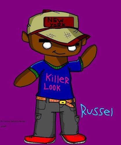 Russel fã art