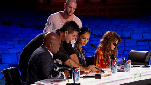 Scenes from 'X Factor' oct 5