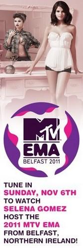 Selena Gomez एमटीवी EMA 2011