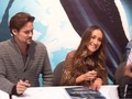 Shane & Maggie @ NY Comic Con - shane-west-and-maggie-q photo