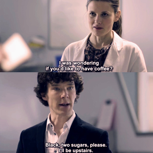 Sherlock evades