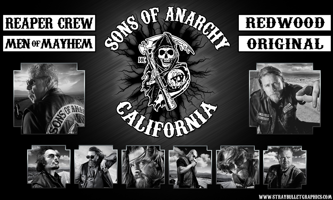 Sons of Anarchy kertas dinding