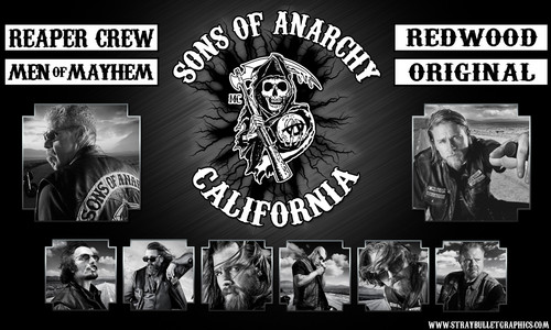Sons Of Anarchy wallpaper probably with anime entitled Sons of Anarchy Wallpaper