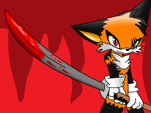 Sonic Fan Characters wallpaper possibly with anime entitled TUCH ME OR MY SWORD YOU DIE!!!!!!!!!!!!