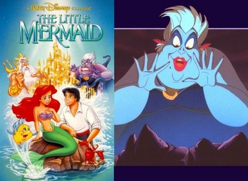 The Little Mermaid with Ursula
