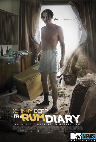 The rum Diary new poster!!!
