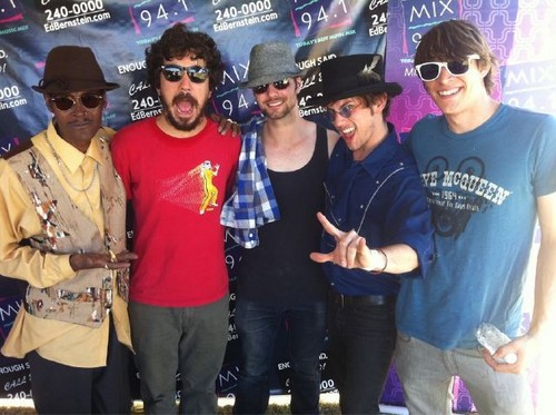 The band in vegas