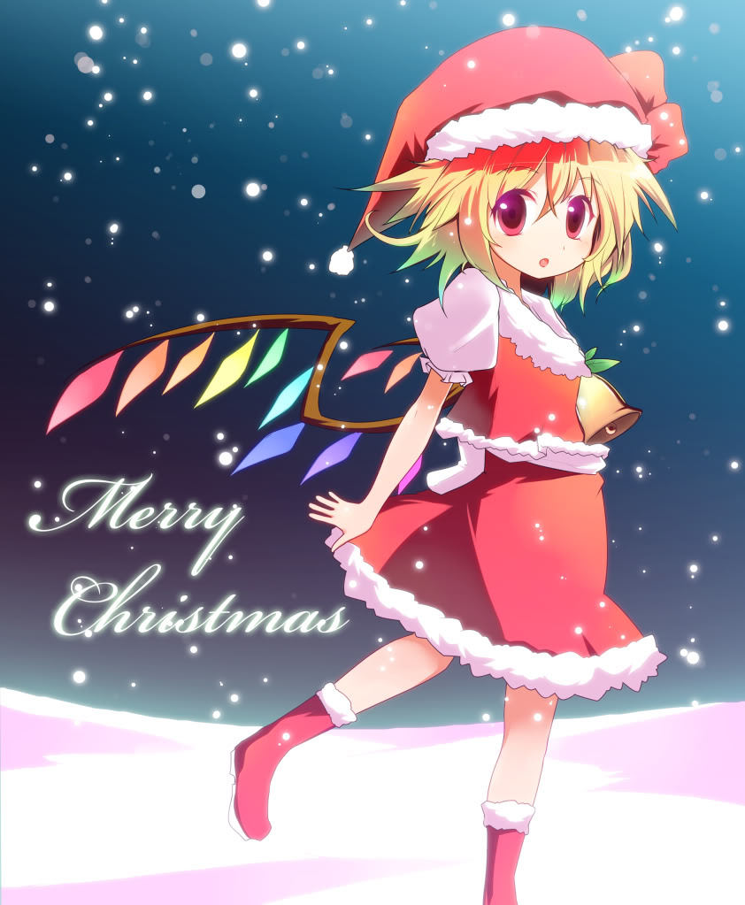 Touhou Horidei images Touhou Christmas HD wallpaper and background ...