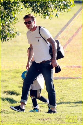 Victoria Beckham: Office Visit with Baby Harper!