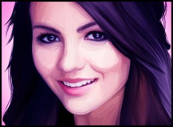 Victoria Justice: drawn!