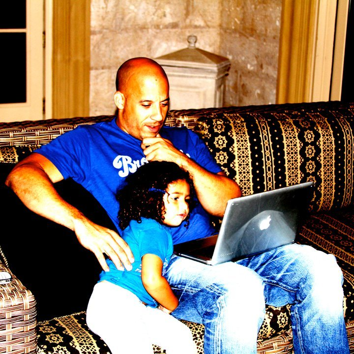 Vin Diesel Daughter http://www.fanpop.com/clubs/vin-diesel/images/26075385/title/vin