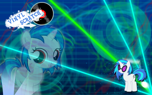 Vinyl Scratch/DJ PON-3 wallpaper