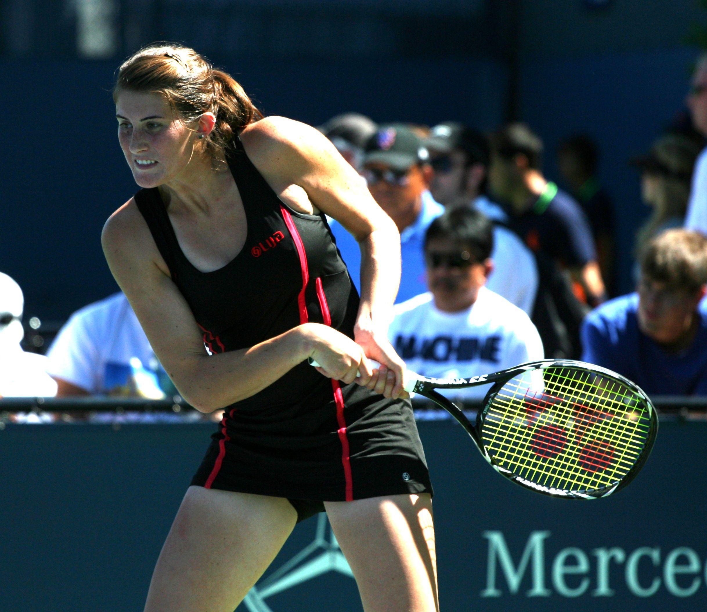 Wta: Rebecca Marino Redefines The Term Powerball