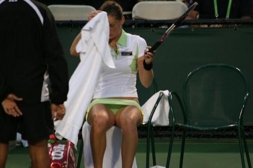 Iveta Benešová is a Sexy Sweat Wiper