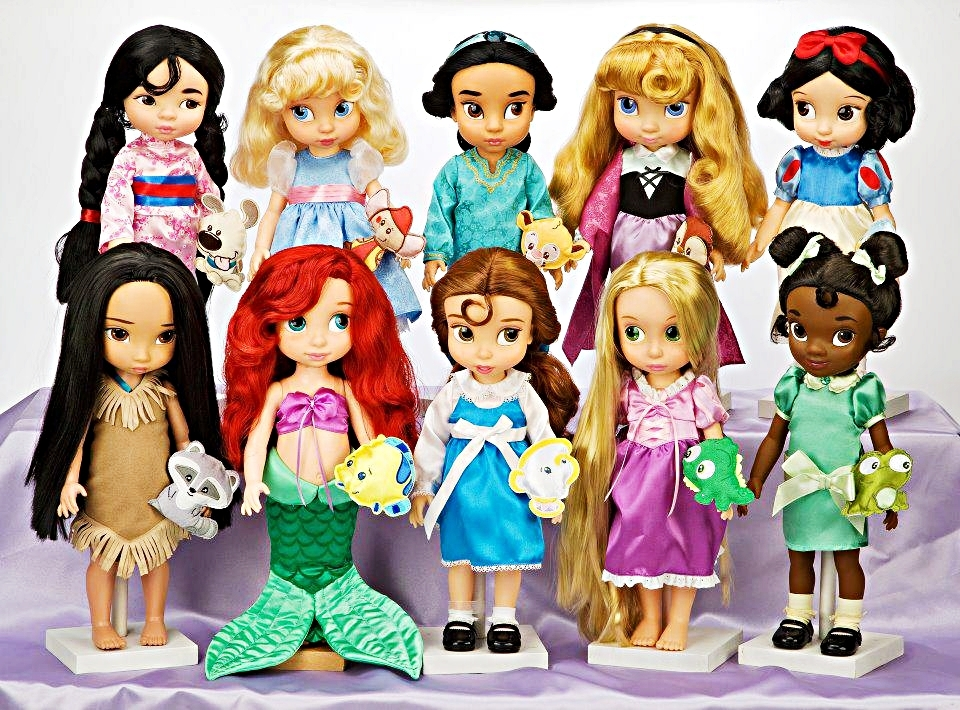 Walt Disney Characters Walt Disney World - Disney Princess Dolls