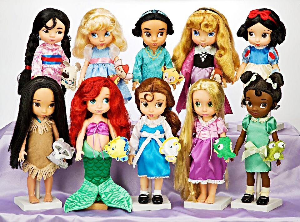 Walt Disney World - Disney Princess anak patung