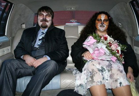 Weird and Wacky Wedding foto's