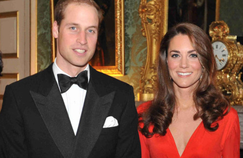 William&Catherine at fundraiser for Child Bereavement Charity