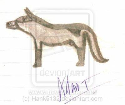 serigala Sketch