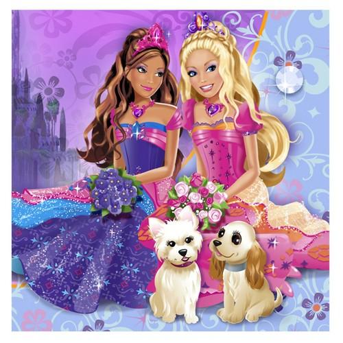 Barbie and the diamon istana, castle