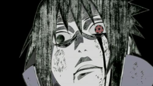 darkness side of sasuke uchiha