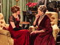 edith and grand - downton-abbey photo