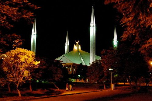 Islam پیپر وال titled faisal mosque, islamabad pakistan