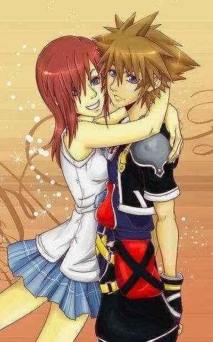 kairi and sora<3