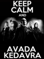 keep calm & avada kedavra - death-eaters fan art