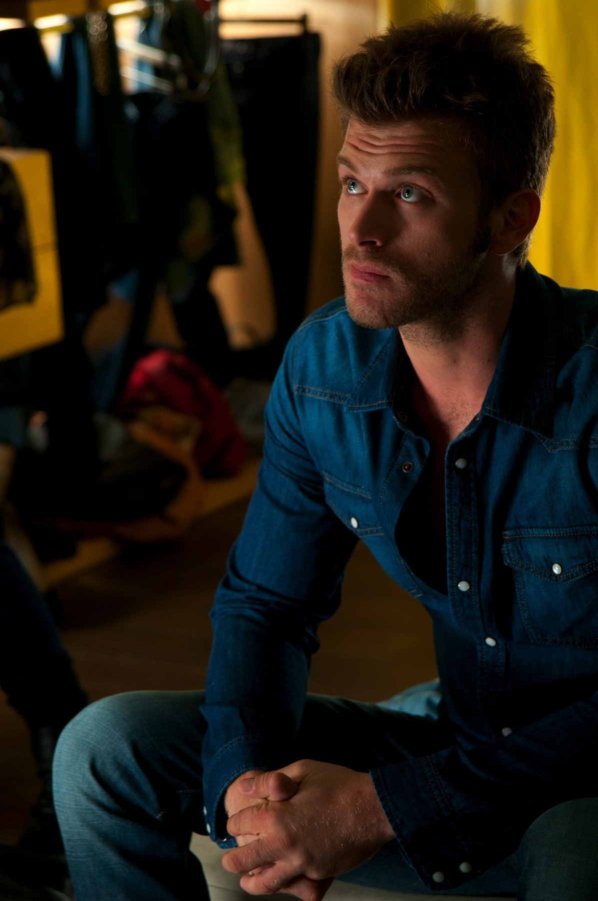 Tatlitug Kuzey Guney Reclame Behind Scene Kivanc Photo