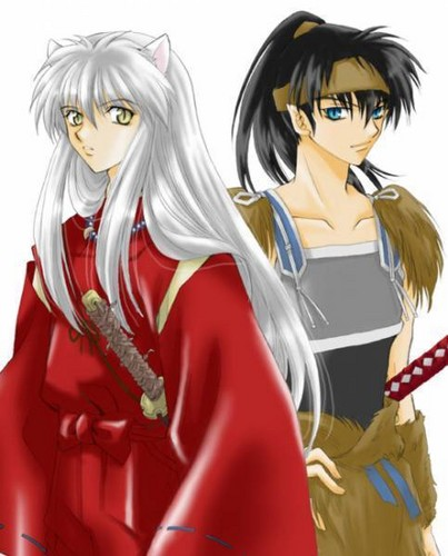 koga and inuyasha