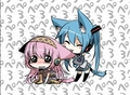 luka and miku as kucing
