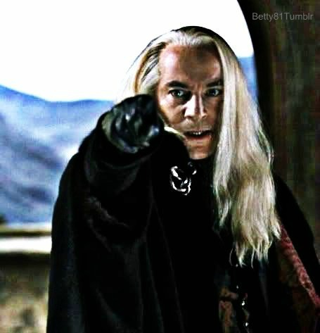 Lucius Malfoy wallpaper possibly with a cloak and a capote titled mr lucius malfoy