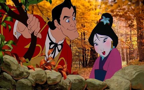 Mulan and gaston