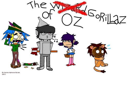 the GORILLAZ of Oz :3