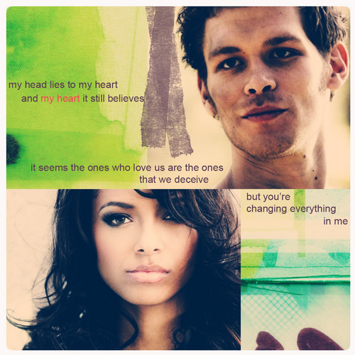 Klaus and Bonnie - without u here