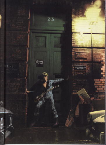 Ziggy Stardust wallpaper with a street titled ziggy stardust
