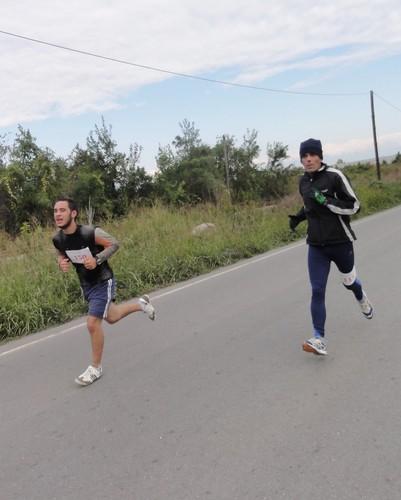 Αγώνας Δρόμου και Βάδην Σκύδρα - Αρσένι 2011 (διαδρομή)